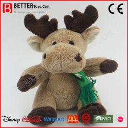 Рождественский подарок фаршированные оленей в кукла шарфом/худи мягкие мягкие игрушки для детей в Интернете