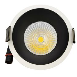 5W/7W/10W/12W/15W blanc chaud de l'IRC>90 Ugr<10 Sdcm<3 antireflet Spot LED antireflet lampe Spotlight