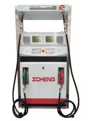Gasolinera Zcheng dispensador de combustible Bomba doble boquilla cuatro