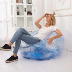 إنترنت شهرة [سقوين] أريكة قابل للنفخ [سفا بد] كسولة في يعيش غرفة شفّافة قابل للنفخ أريكة كرسي تثبيت