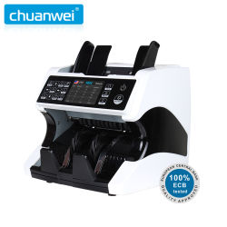 Top Loading Dual Cis Money Detector Mix Value Bank Counting Maschine