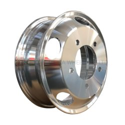 16X5.5 boa qualidade da liga de alumínio de rodas ou aros para caminhão de Luz