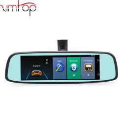 DVRおよびカメラのビデオが付いている車DVRのアンドロイド5.0ミラーDVR 3G 4G Bluetoothのバックミラー