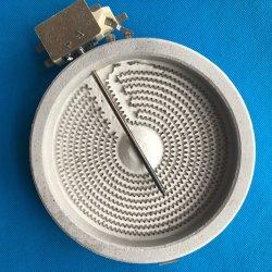 230V 1800W Plaque chauffante en céramique électrique chauffage infrarouge Furnacc