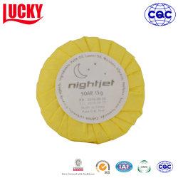 Envuelto en papel Ronda Hotel jabón de tocador Jabón de Aceite de coco