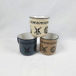 熱い販売のプリントが付いている小型陶磁器の磁器のコーヒーカップ
