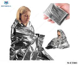 Ultima coperta Emergency generale del pronto soccorso del sacco a pelo della stagnola d'argento M-Etb01