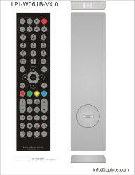 Telecomando impermeabile dell'affissione a cristalli liquidi TV universale ed imparare