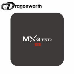 Kdプレーヤー人間の特徴をもつTV BoxandroidスマートなTvmxqプロS905Wのセットトップボックスの人間の特徴をもつWiFiのDongle TVボックスHD