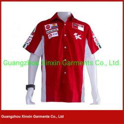 Personalizado duas camisas impressas Guangzhou do grupo de poço do tom (S116)