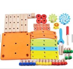 Kind-entfernbarer Multifunktionsstuhl-hölzerne Spielwaren