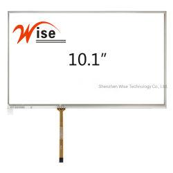 10.1'' personnalisée à 4 fils de l'écran tactile résistif/panneau tactile résistif/RTP