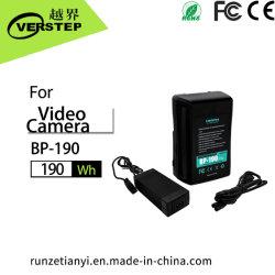 batteria Bp-190 di 190wh V-Moumt misura per le batterie della V-Serratura per la videocamera del SONY HDV DSLR