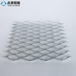 PVDFのコーティングによって拡大されるアルミニウム金属の網のクラッディング