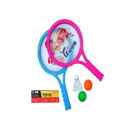 Barato Bola infantis raquete de badminton brinquedo desportivo para crianças