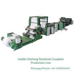 Livro de exercícios escolares Automática Completa linha de produção a máquina
