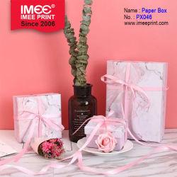 Imee 분홍색 짧은 선물 상자 어머니와 아이 선물 생일 선물 상자
