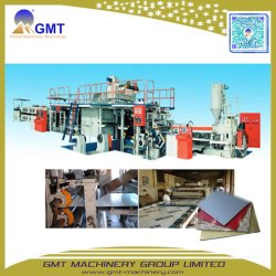 Productielijn voor extrusie van plaatmateriaal uit ACP-aluminium kunststof