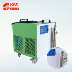 Generador de gas Hho el tubo de vidrio máquina de sellado de la lista de precios