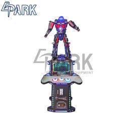 De binnen Eerste Robot van Optimus van de Transformator van het Ijzer, het Beeldhouwwerk van de Transformator, de Machine van het Spel van Outprize van het Standbeeld van de Robot van Transformatoren