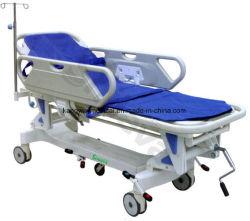 Maca Médicos Hidráulico de Emergência de fábrica Carrinho Carrinho de mobília hospitalar (Slv-B4305)