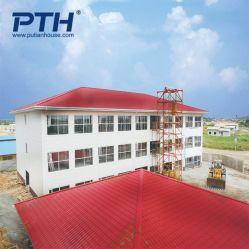 China Construções prefabricadas House Hotel Design com electricidade e canalização situada no Gabão, África do Sul