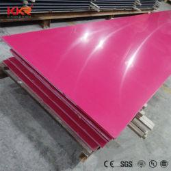 ورقة الحجر الصلبى ذات اللون الوردي KKR Variours بلون خالص للديكور المنزلى الداخلي