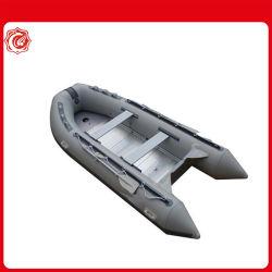 CE 330cm Cando Hypalon/PVC Slat-Floor inflables Power Boat barco de palas de fibra de vidrio