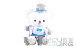Soft prince ours ours en peluche avec des vêtements Hat Jouet de l'ours