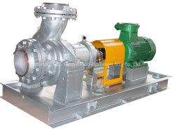 زيت وقود خام وقود الديزل الساخن ذو الطرد المركزي الأفقي نقل مضخات العمليات الكيميائية