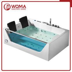 Woma 1800*1200mm de l'acrylique Salle de bains jacuzzi de l'eau-air baignoire de massage (Q411L)