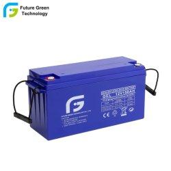 Высокая емкость 12V 150Ah Аккумулятор заполнен гелеобразным электролитом аккумуляторной батареи