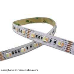 DC24V 60/72/84/96светодиодов на метр 5-в-1 5050SMD LED RGBW газа Ridig красочные LED оформление газа освещение