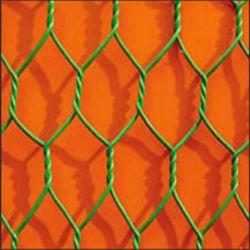 Reticolato esagonale rivestito della rete metallica del PVC Gabion