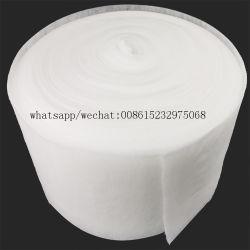 Materia prima non tessuta calda del rullo del tessuto del cotone dell'aria per i rilievi sanitari del pannolino del bambino