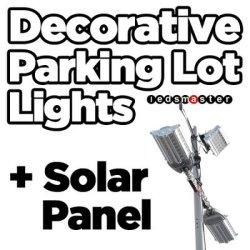 Eclairage extérieur étanche IP66 200W Rue lumière LED avec un maximum de 100m de distance de pôle
