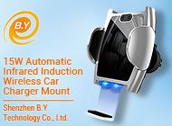 Qi carregador de automóvel sem fio de telefone móvel sem fio 15W 10W 7,5W indução de infravermelhos Automático Carro Celular iPhone carregador sem fio Suporte de Carga
