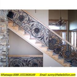 Piscina exterior de aço Galvanização da escada em espiral / Metal ferro forjado Design escadas