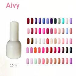 Botella blanca Venta al por mayor belleza Gel de uñas de gel UV Polish