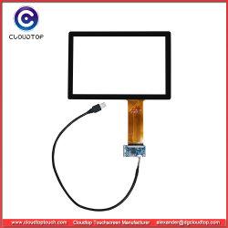 10.1-дюймовый 10 баллов Pcap комплект с сенсорным экраном с контроллера USB и кабель USB