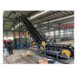 Tiempo de la banda de cinta transportadora cinta transportadora de la clasificación de la línea de PVC de portador para botellas personalizadas de alimentos de la correa de movimiento, la mesa giratoria