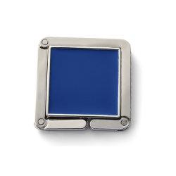 아연 합금 재질의 폴더 가능한 합성 에나멜 함유 백 걸이(ele-BH13)