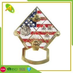 Индивидуальные пользовательские 3D старинной Золотой шар Khaki спортивные медали пульта управления (274)