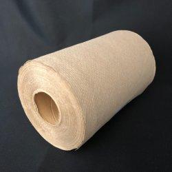 Gaufrage Hardwound naturel recyclé 12 rouleaux de serviettes de rouleau de papier