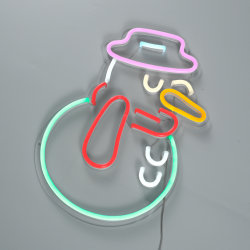 12V monté sur un mur enseigne au néon de lumière LED LED