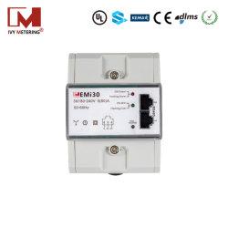 80A WiFi LÄRM Schienen-Wattstunde-Elektrizitäts-Messinstrument hergestellt in China