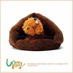 Mascota de peluche en forma de carpa de cama supletoria para dog house