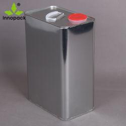 L'étain peut l'emballage d'huile moteur Case colle produit de revêtement Tin Tin peut les capuchons en plastique