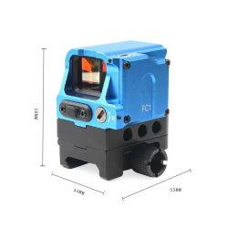 Di Optical FC1 Red Dot Reflexo Visor Visor Visor holográfica para 20mm Pistola de brinquedo Trilho de Acessório de caça
