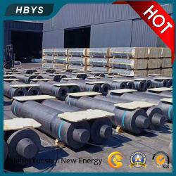 Fabriqué en Chine La fusion HP/Shp/UHP/RP des électrodes de graphite barre carbone